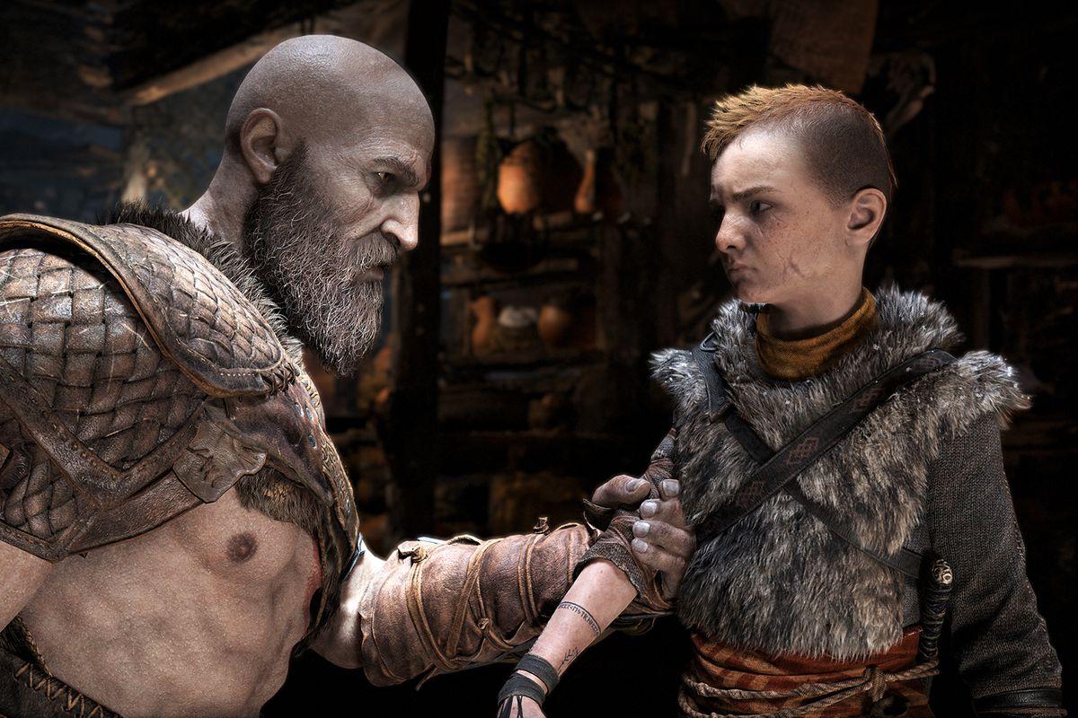 god of war atreus ile ilgili görsel sonucu