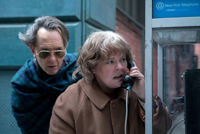 """canyouever6 Richard E. Grant on playing a """"Labrador"""" to Melissa McCarthy's """"porcupine"""" in their new movie"""