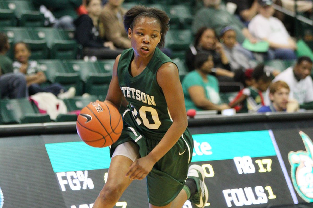 Victoria McGowan had a career-high 33 points in Stetson's win at Kennesaw State.