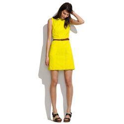 Eyelet trail dress, $160