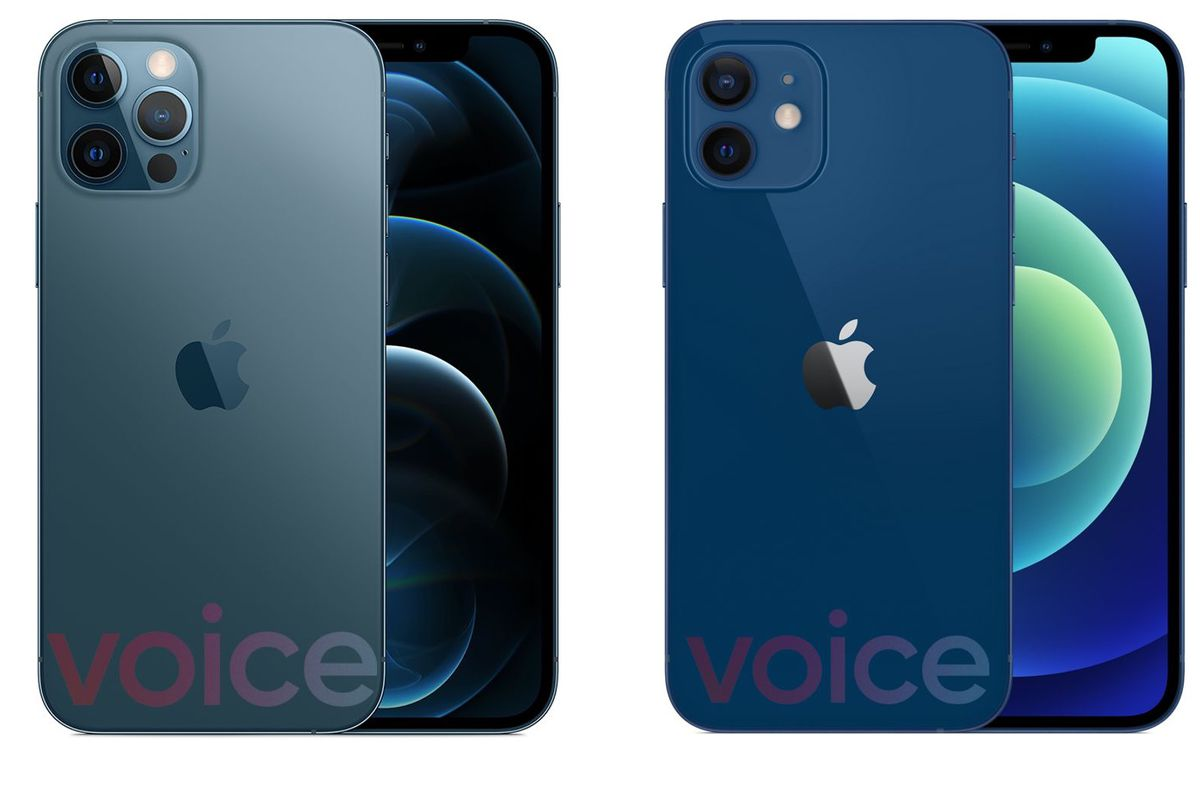 Apple S Iphone 12 Lineup Leaks In Full Ahead Of Event The Verge