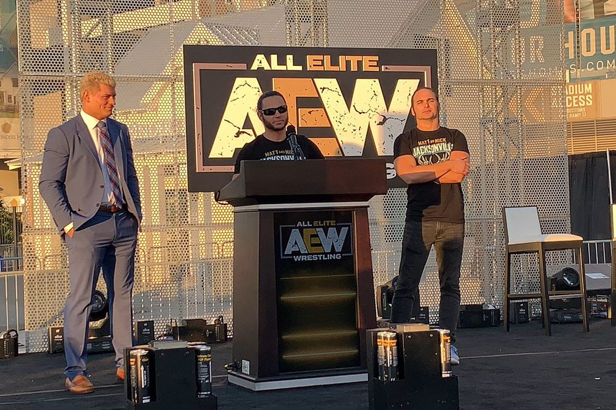 AEW, the company disrupting wrestling and WWE, explained - SBNation com