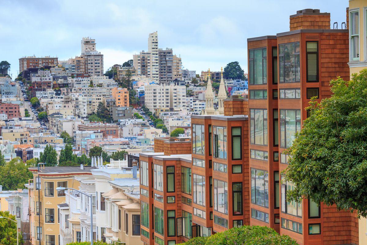 A typical San Francisco neighborhood