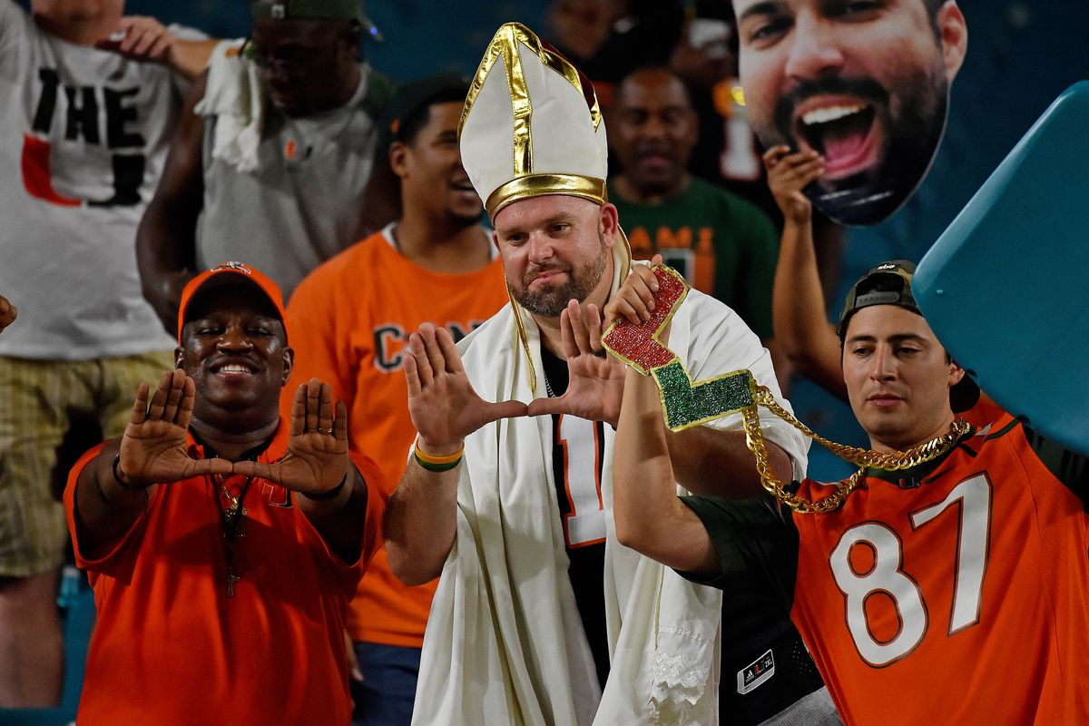 Miami Hurricanes Football: Canes in heavy competition for CFP spot ...