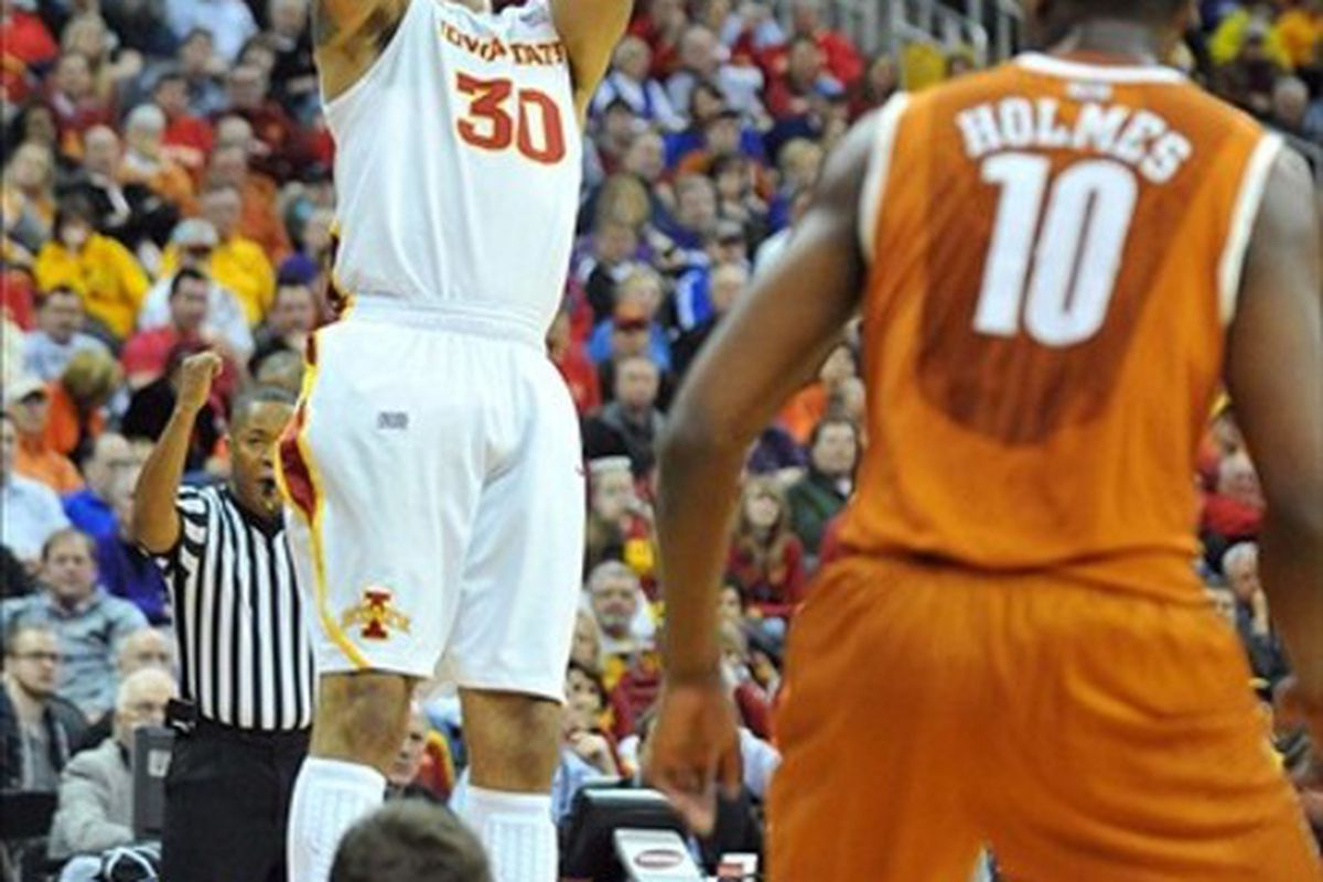 UConn will have to contend with the outside shooting of Royce White and the Cyclones.