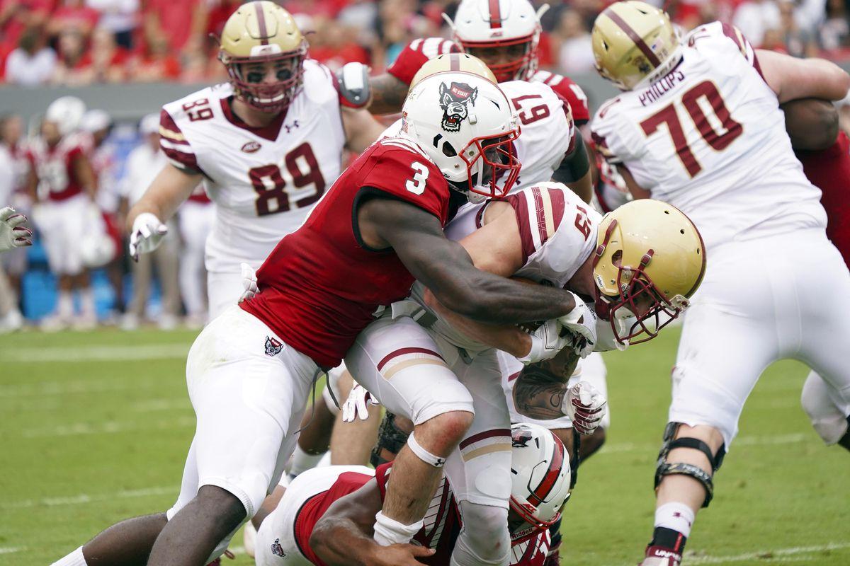 NCAA Football: Boston College at North Carolina State
