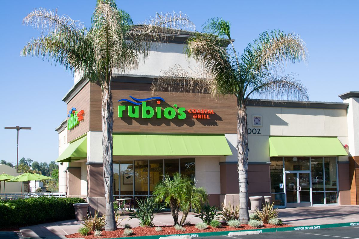 Fish taco purveyor rubio s coastal grill opens first south for Rubios fish taco tuesday