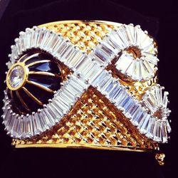 Tassel Collection cuff, $495