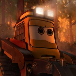 """Smokejumper Drip is part of the firefighting team in Disney's """"Planes: Fire & Rescue."""""""