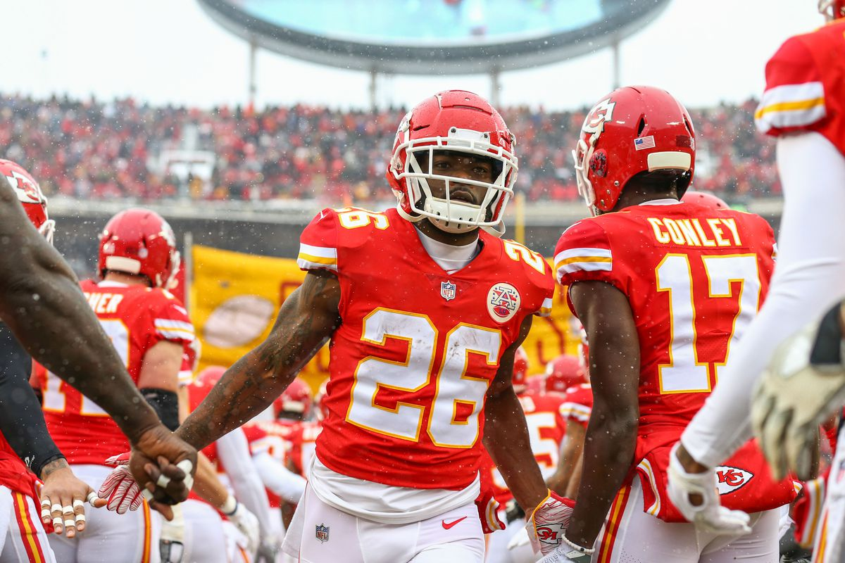 hot sale online 79eab 194c7 KC Chiefs running back Damien Williams misses fifth straight ...