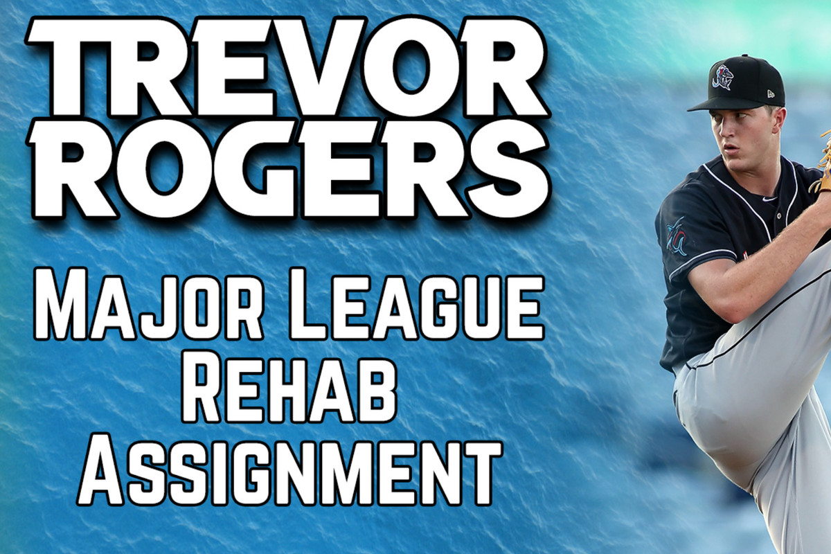 The Marlins' Low-A Jupiter affiliate announced that Trevor Rogers will make two minor league rehab starts with them