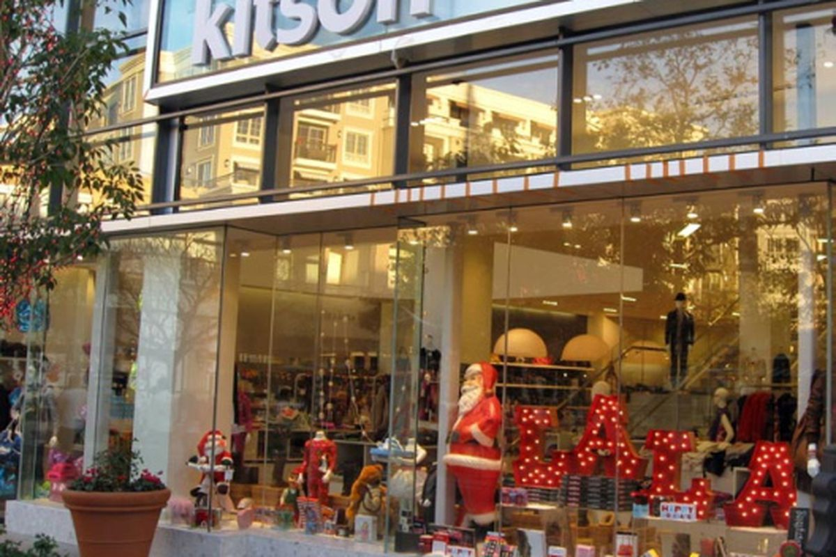 "Kitson, Americana at Brand. Image via <a href=""www.whalinonretail.com/january2009.html"">Retail Management E-Letter</a>"