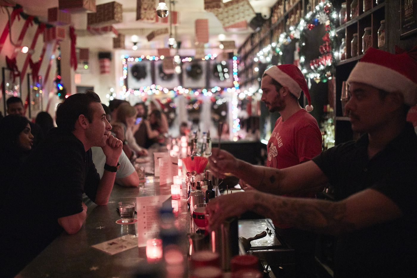 Christmas Pop-Up Bars Are Big Business - Eater