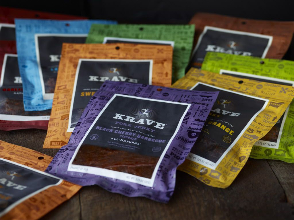 <small><strong>Hershey has a sudden hankering for protein, with plans to add Krave Jerky to its lineup.   AP Photo </strong></small>
