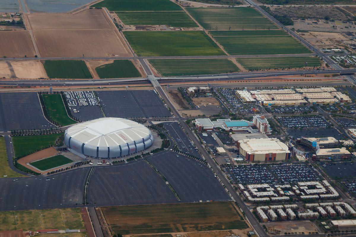 NFL: University of Phoenix Stadium Aerials