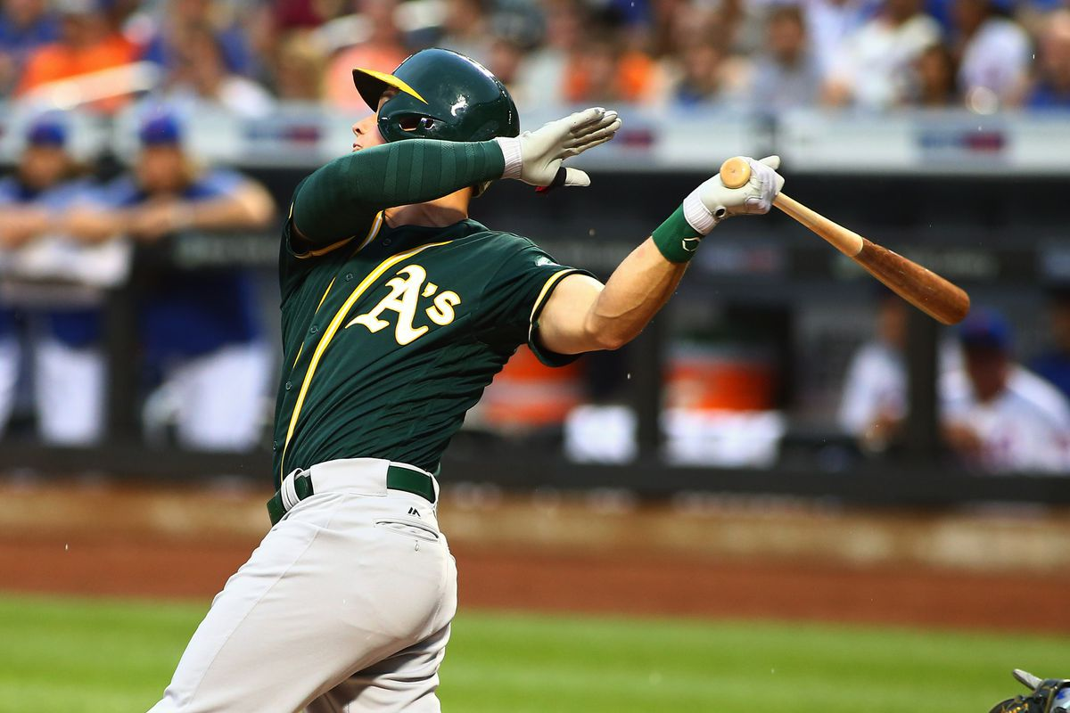Matt Chapman's homerun in the top of the 3rd inning would put the A's up 5-0, a lead they would eventually blow on the way to a 6-5 loss to the Mets
