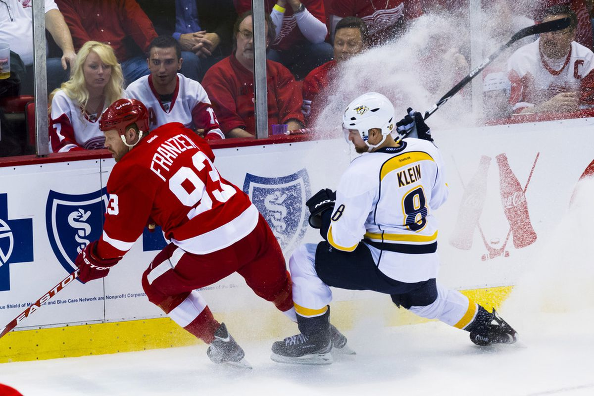 Predators vs. Red Wings (presented by Amway), coming to you on October 12th! We hope...
