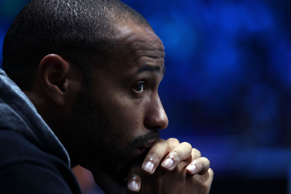 Thierry Henry is ALWAYS thinking about THE ARSENAL, at ALL TIMES