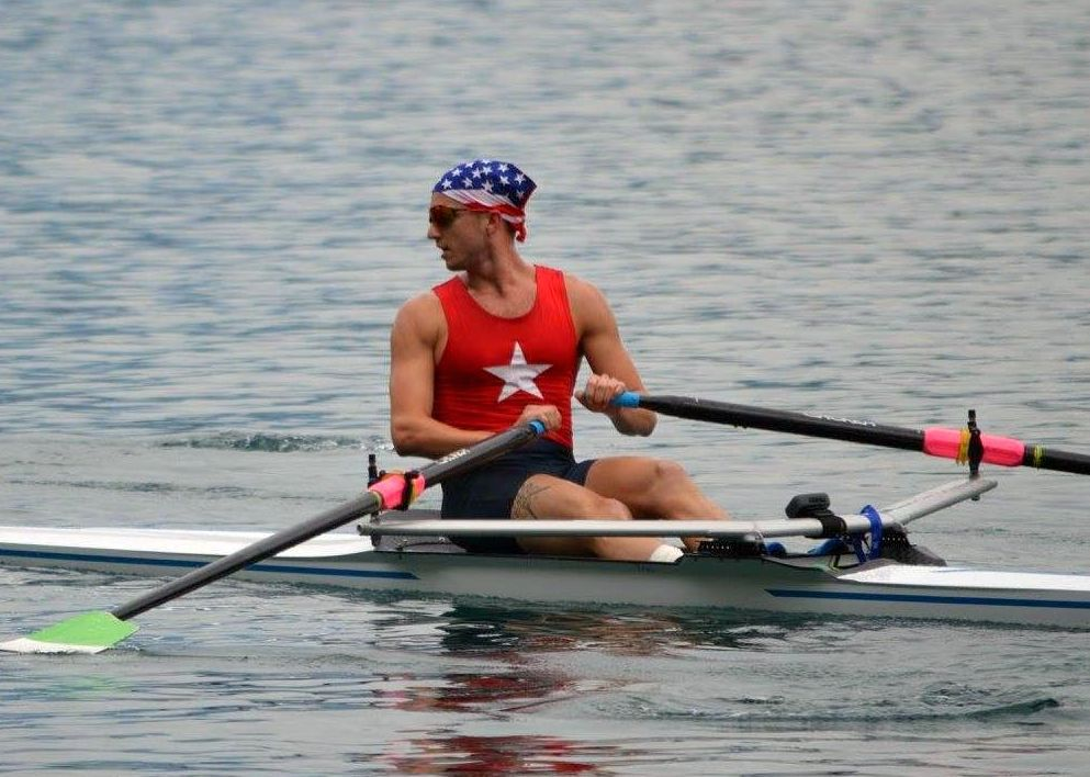 John Olbrys rowing