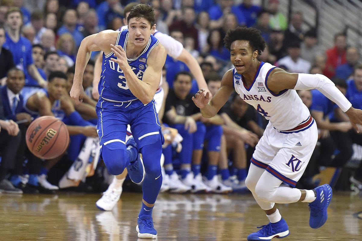 Duke vs. Kansas men's basketball
