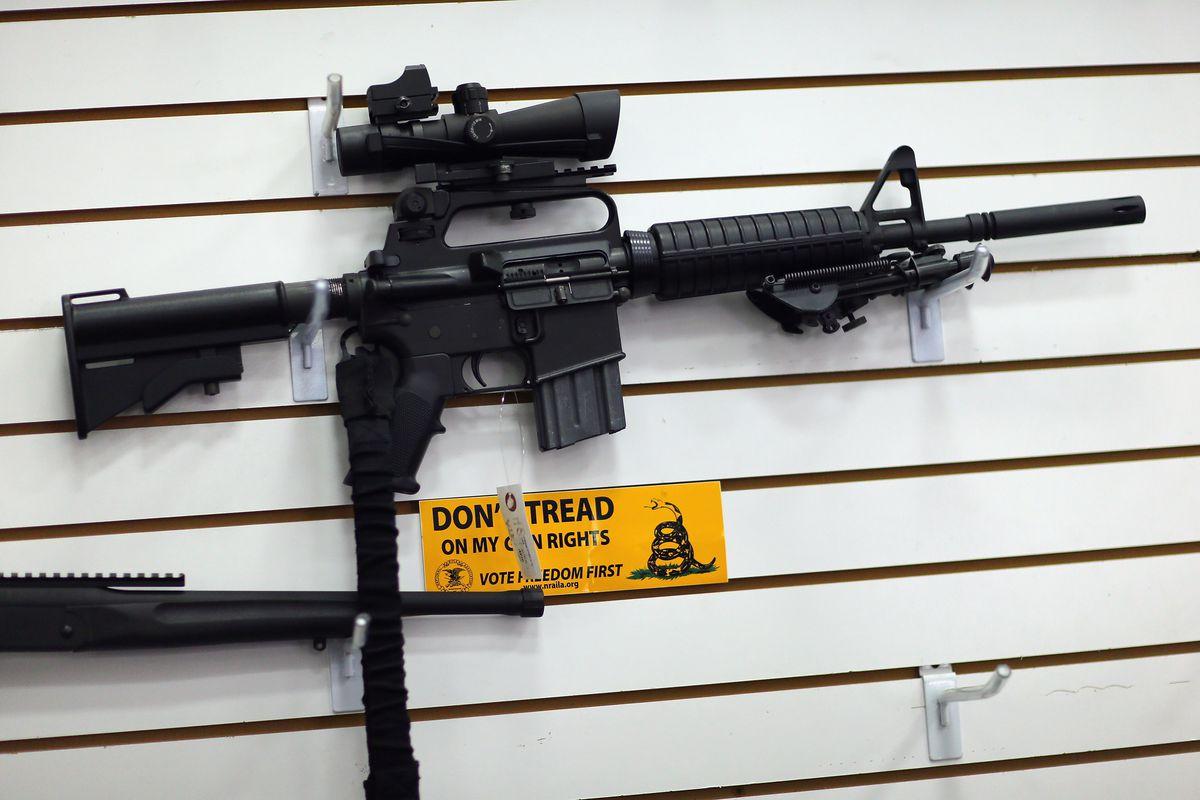 AR-15 at Florida gun store