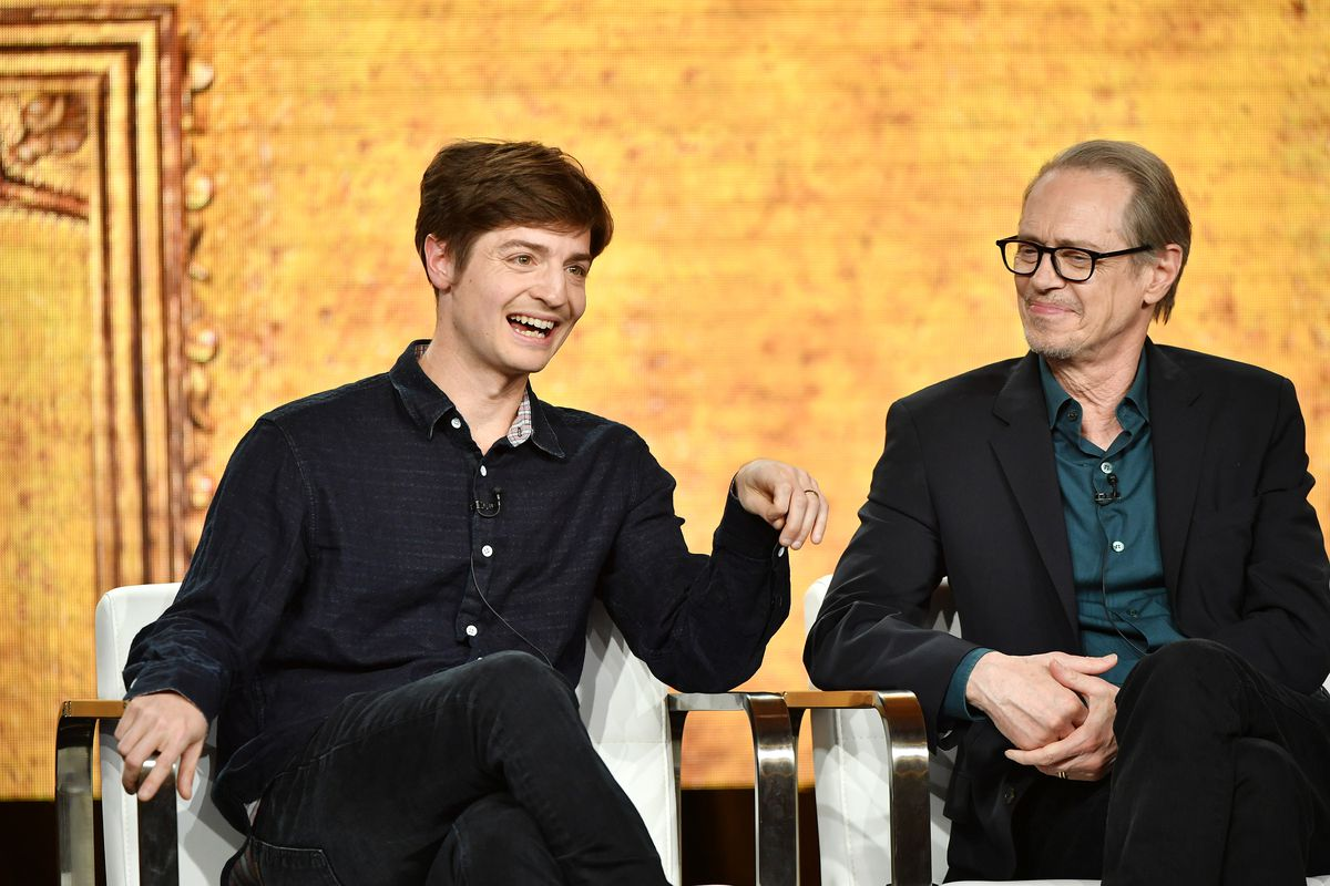 2020 Winter TCA Tour - Day 9: Simon Rich and Steve Buscemi on a panel for Miracle Workers: Dark Ages