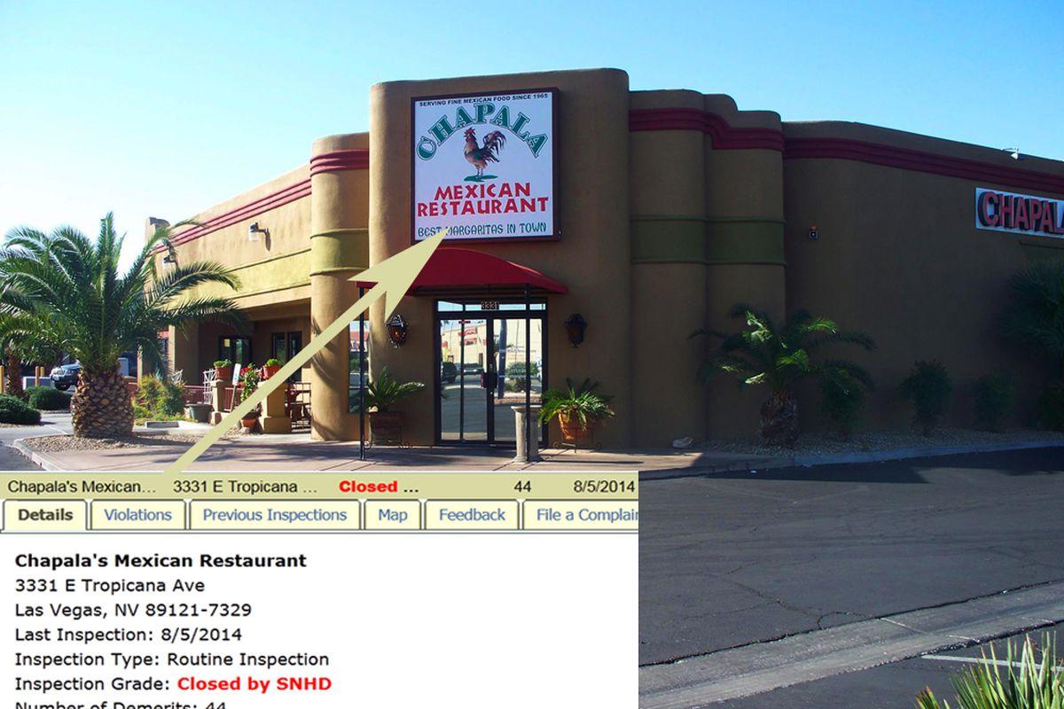 Snhd Shuts Down Chapala S Mexican Restaurant Eater Vegas
