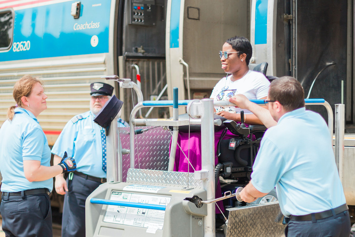 """Access Living calls new Amtrak price policy """"slap in the face"""" for people with wheelchairs"""