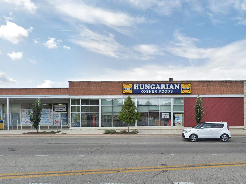 """Margit and Sandor Kirsche founded Hungarian Kosher Foods at 4020 S. Oakton St., said to be """"America's first all-kosher supermarket"""" and the largest kosher grocery in the Midwest. 