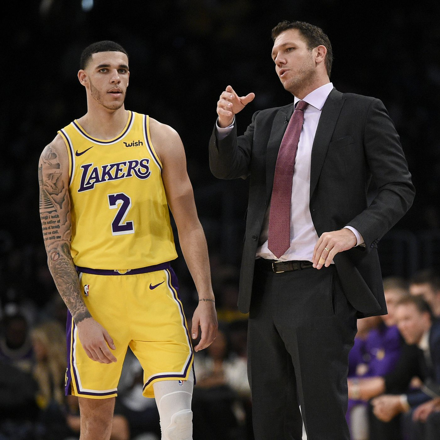 94540d28edf Luke Walton wants to see who else besides LeBron James can close games for  the Lakers