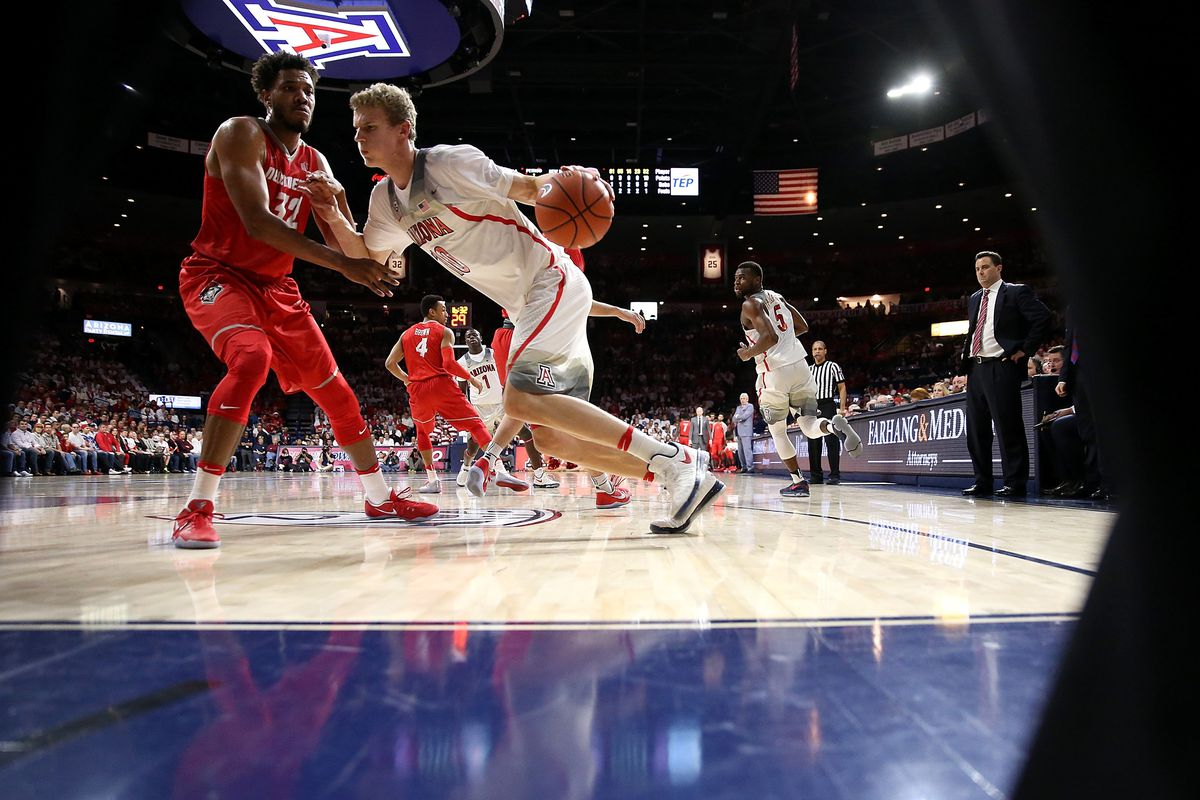NCAA BASKETBALL: DEC 20 New Mexico at Arizona