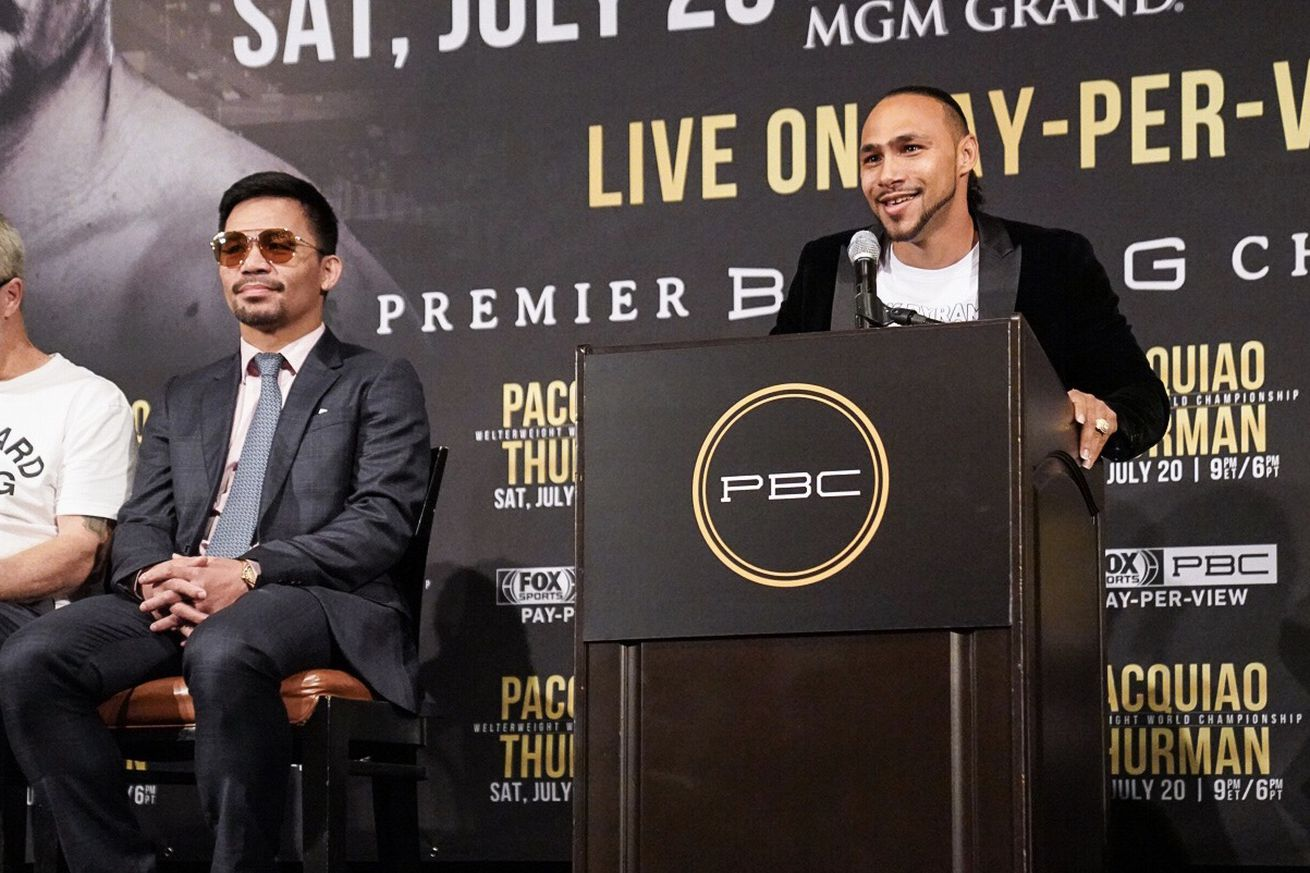 Pacquiao vs Thurman Presser in LA 11.0 - Roundup (May 24, 2019): Ito-Herring, Wilder, Pacquiao-Thurman, more