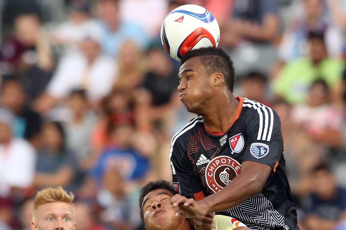 Erik Palmer Brown in the MLS Homegrown Game