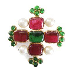 Chanel brooch, $1,800