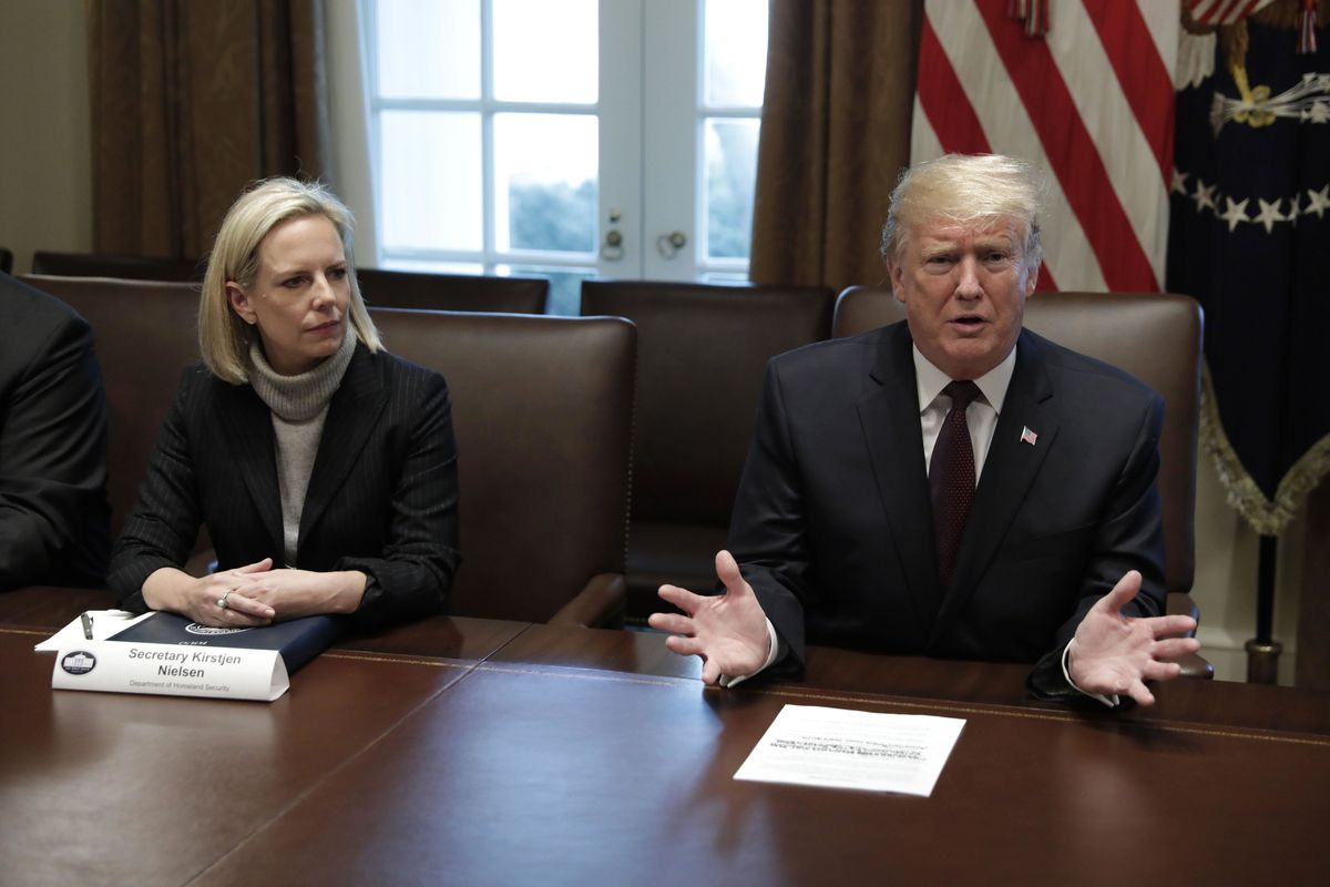 Kirstjen Nielsen resigned from her position as homeland security secretary on Sunday, April 7, after meeting with President Trump.