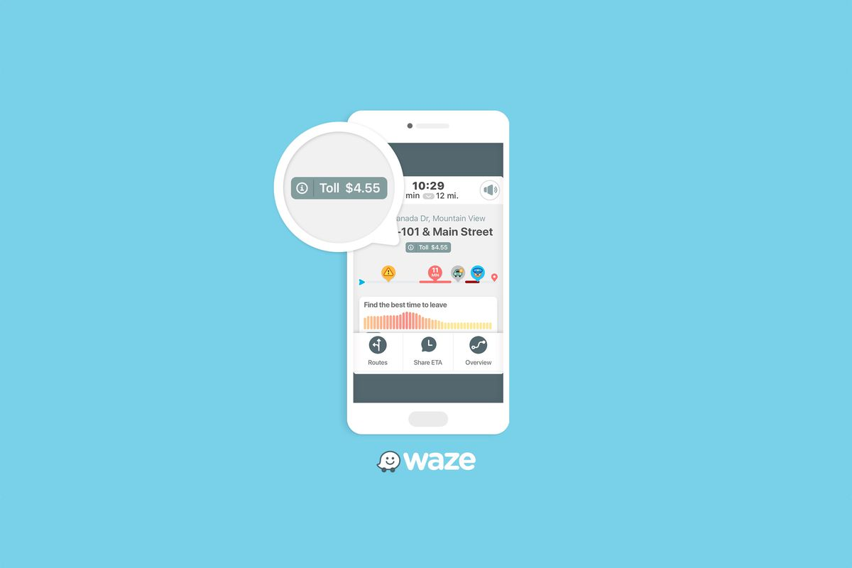 Waze will now tell you exactly how much that toll road will