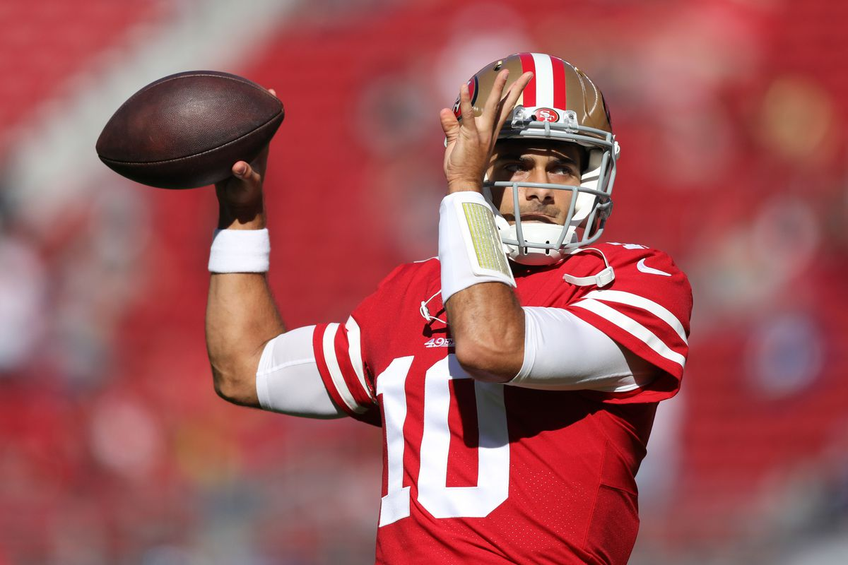 49ers name Jimmy Garoppolo starter for Week 13