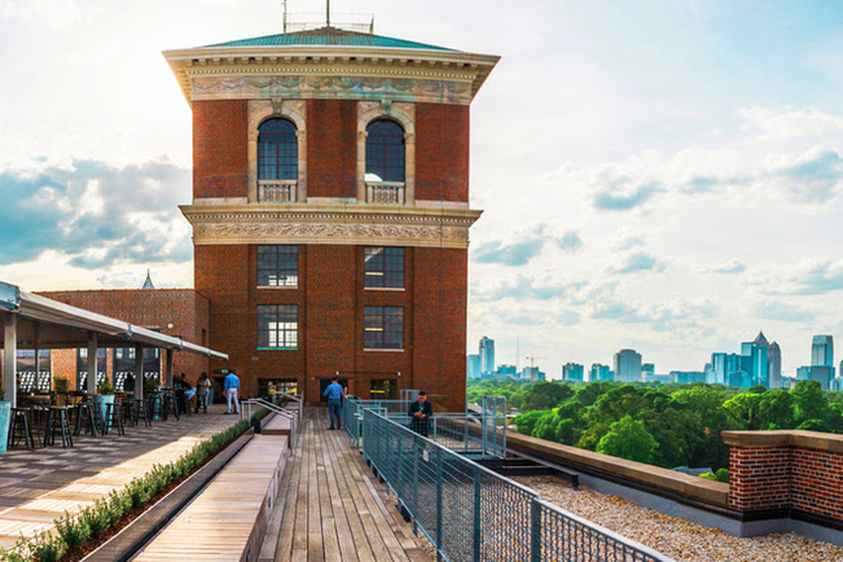 Ponce City Market S The Tower Being Converted To Bars