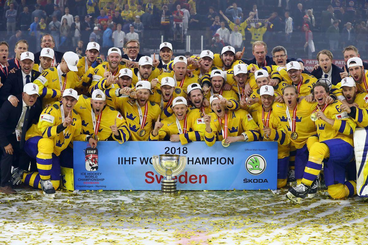 Sweden v Switzerland - 2018 IIHF Ice Hockey World Championship Gold Medal Game