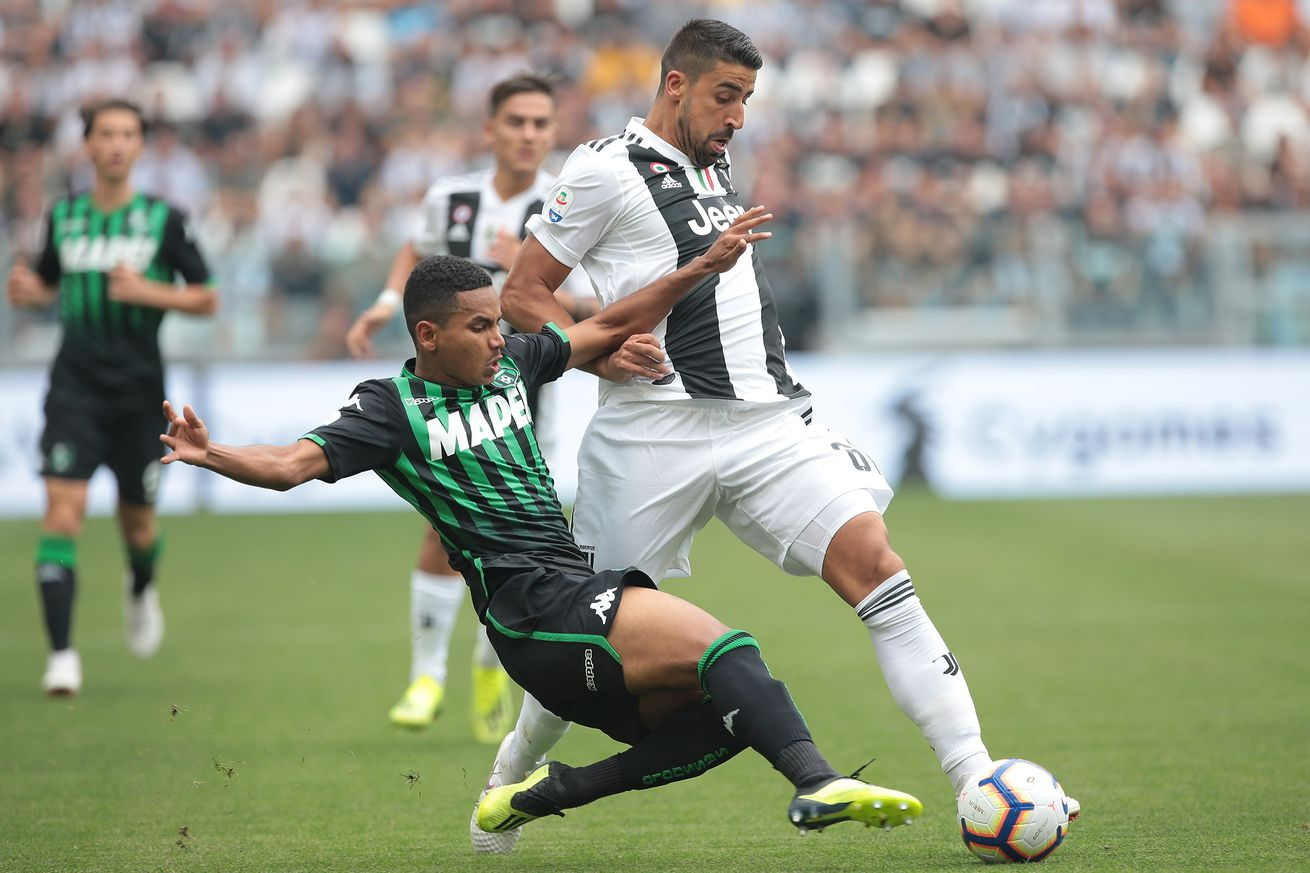 Sami Khedira ?a big doubt? for SPAL game after injuring ankle in training