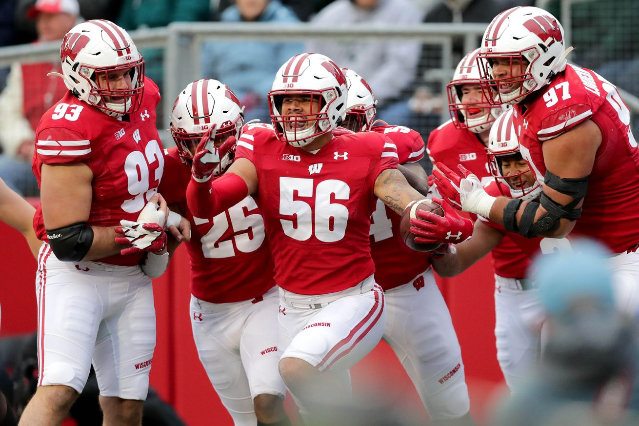 NCAA Football: Michigan State at Wisconsin