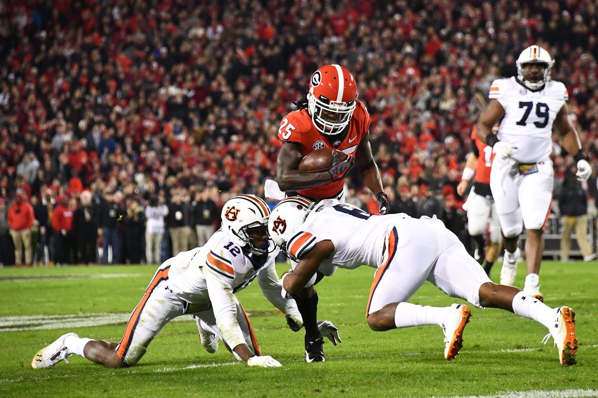 Georgia vs. Auburn final score: Dawgs dominate, win 27-10 ...
