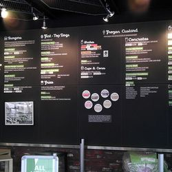 The Philly menu