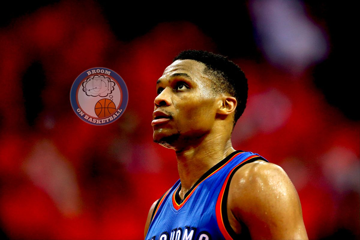 4534d4b313a35d Oklahoma City Thunder views  What off-season moves can Presti make to  support Russell Westbrook