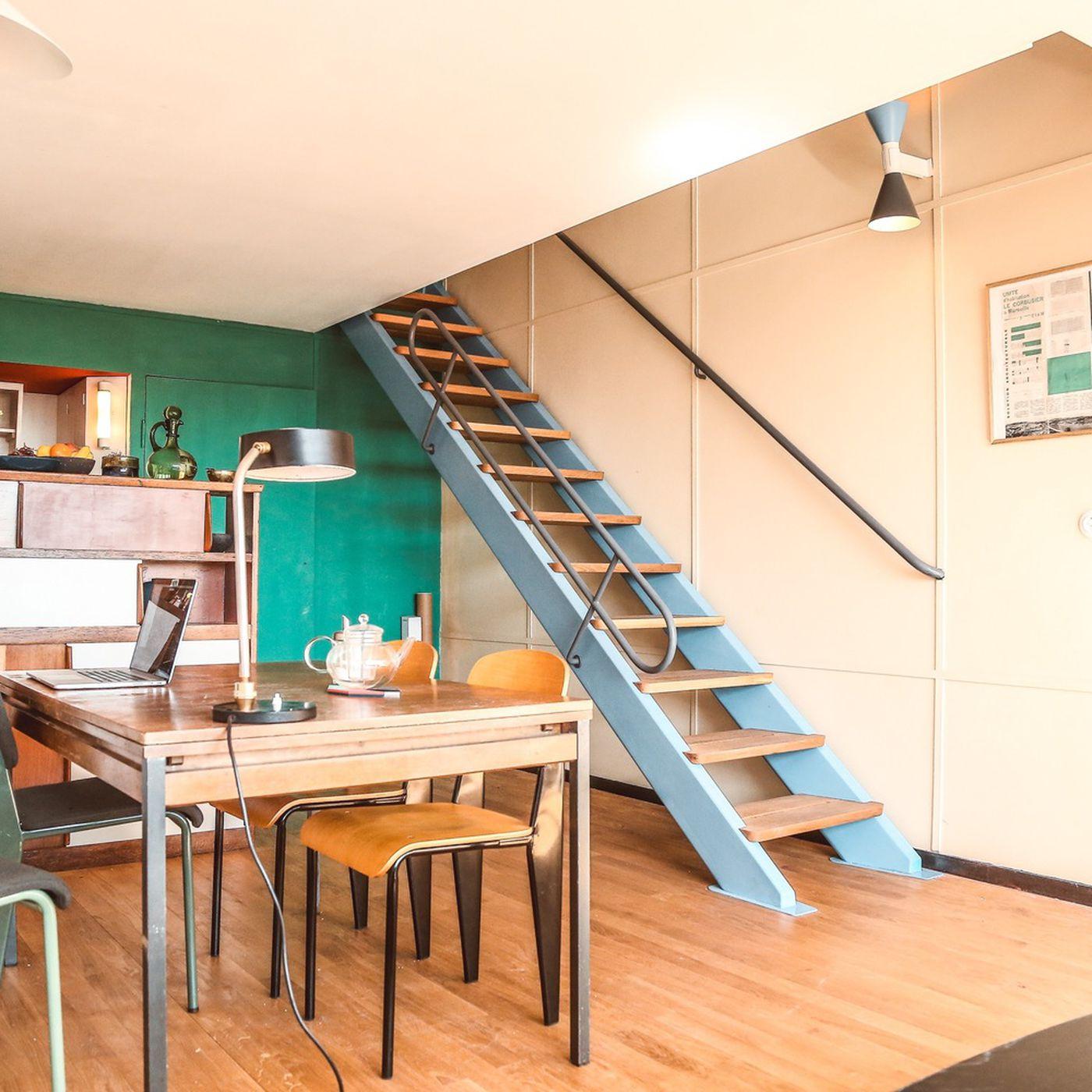 Le Corbusier Unite D Habitation unité d'habitation apartment renovation completes le