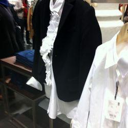 This velvet jacket is nice, too.