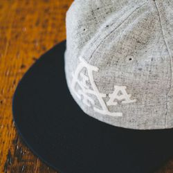 Seattle's Ebbets Field Flannels has created this custom wool flannel cap ($54).