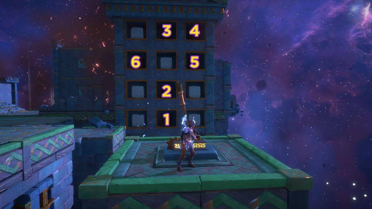 A puzzle solution for Kalliope's Distress Vault of Tartaros Vault of Tartaros in Immortals Fenyx Rising