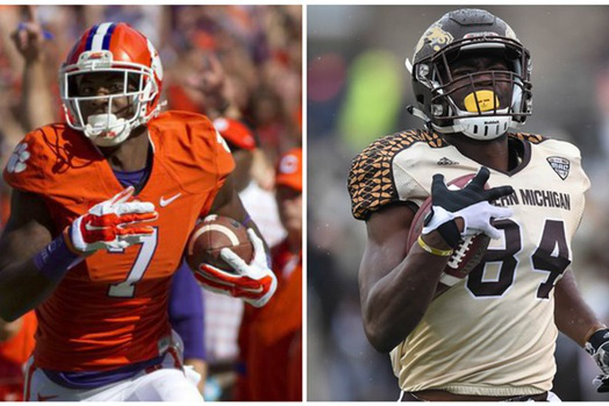 wholesale dealer a8a3e 7c97a Comparing Mike Williams and Corey Davis: Who is the better ...