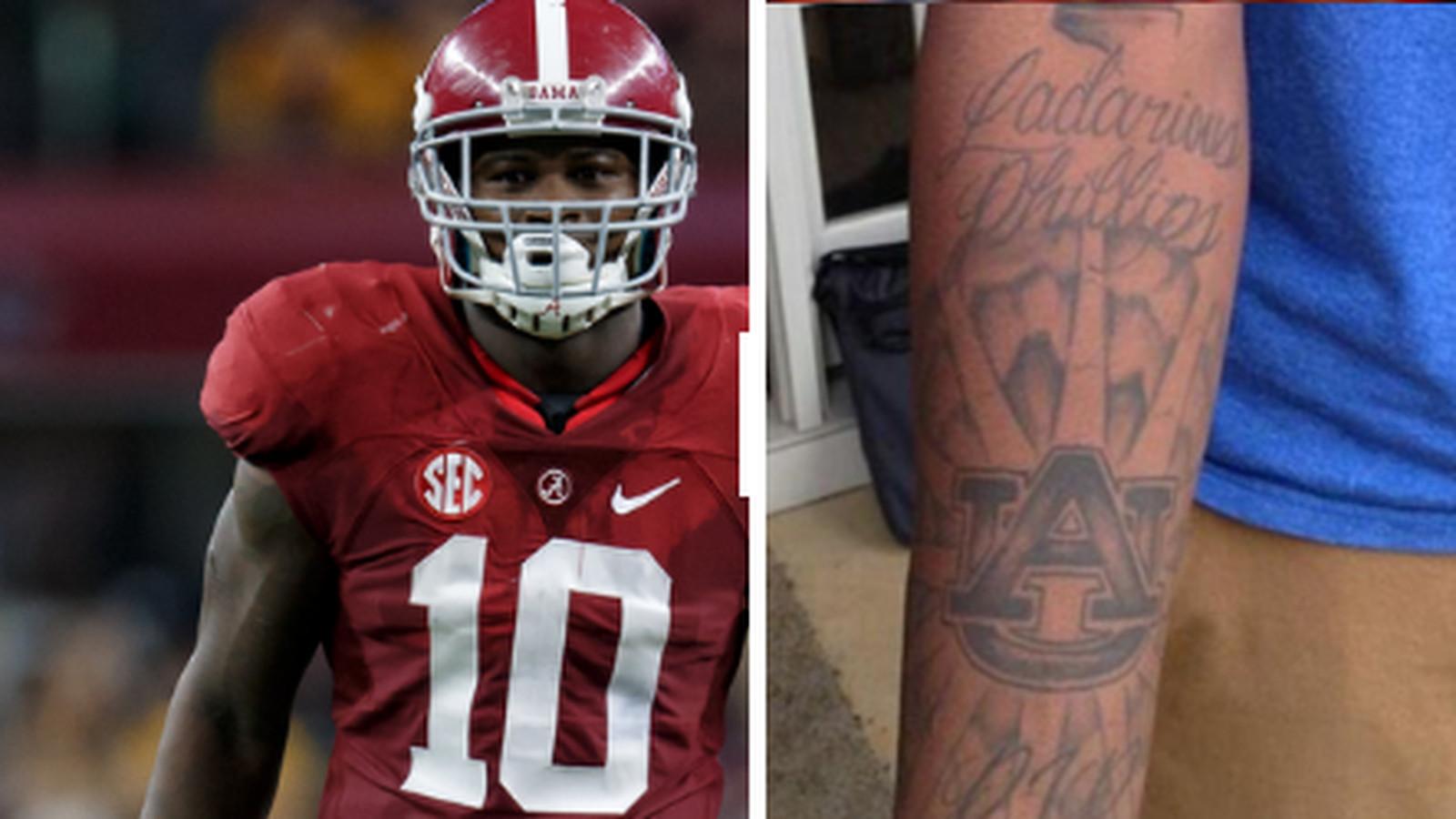Why Alabama's Reuben Foster has an archrival Auburn tattoo